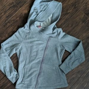 Puma assymetrical zip-up sweatshirt